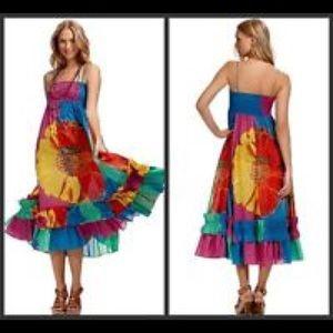 Diane Von Ferstenberg silk maxi dress Size Medium